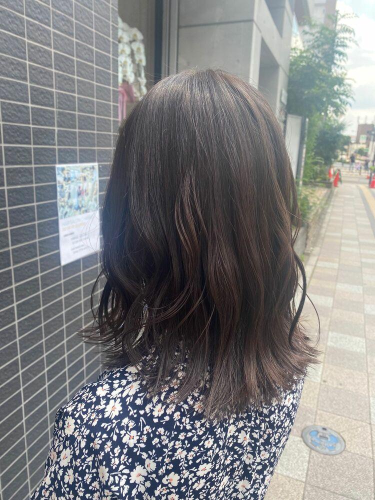 チョコレートベージュカラー【大宮、大宮駅】