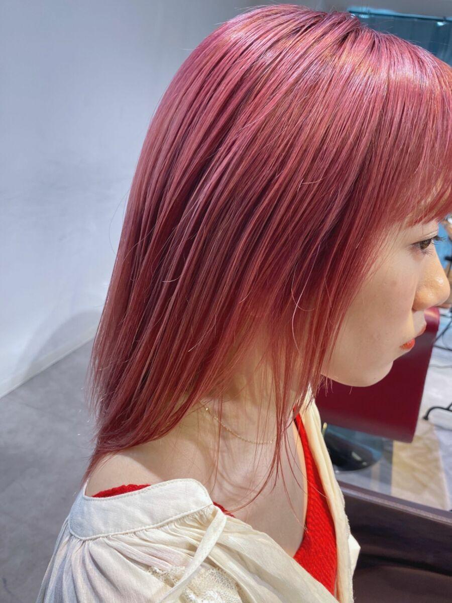 コーラルピンク☆池袋