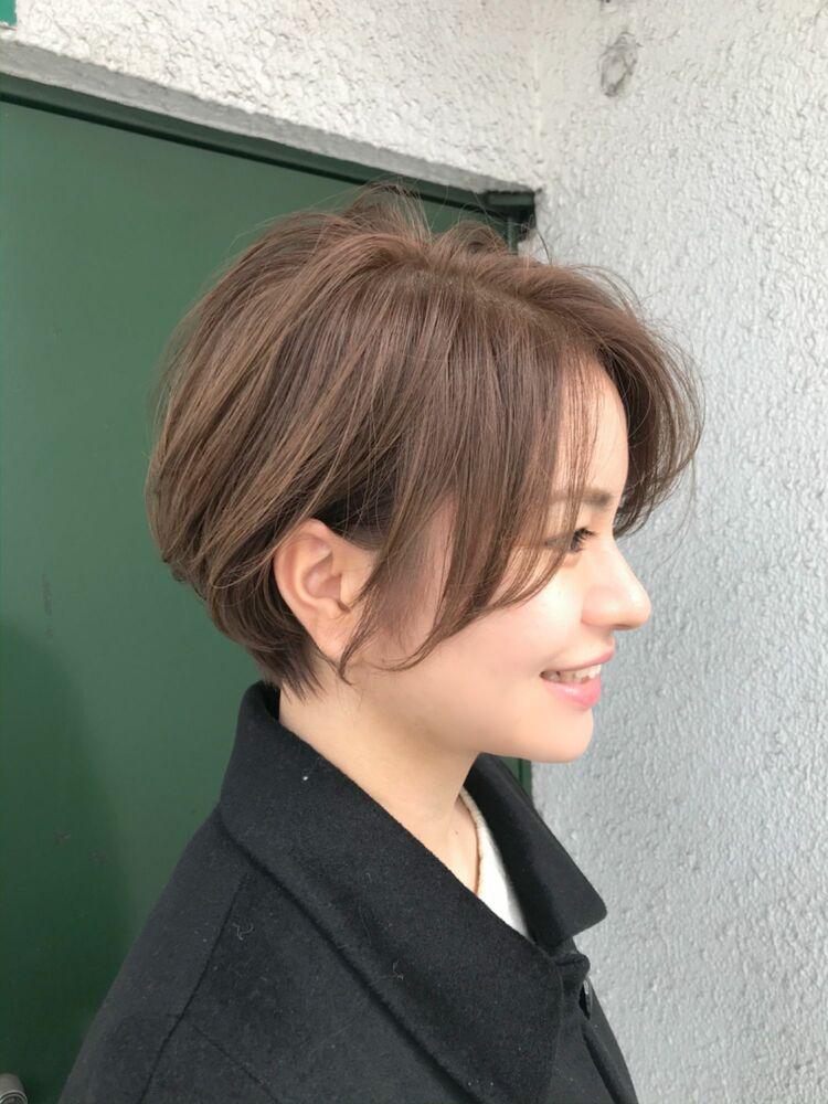 どこから見てもオトナ可愛い抜け感のあるショートヘア★