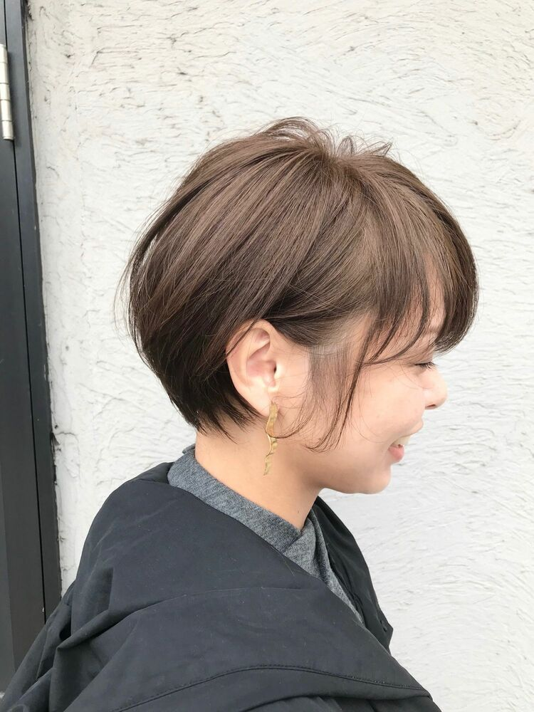 ママも可愛く★黄金バランスで褒められショートヘア^ ^