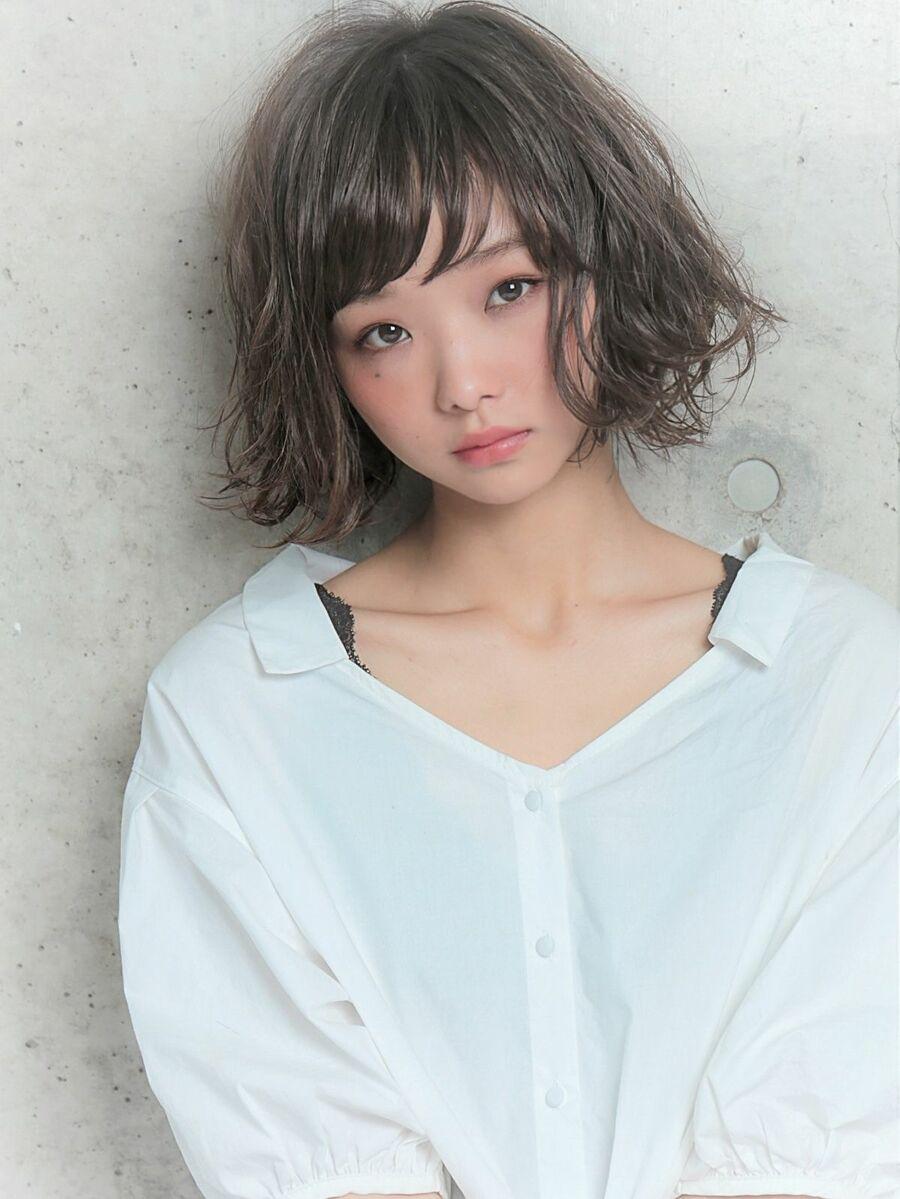 透明感×グレージュ  ×外ハネボブ『ネモトヨシキ』