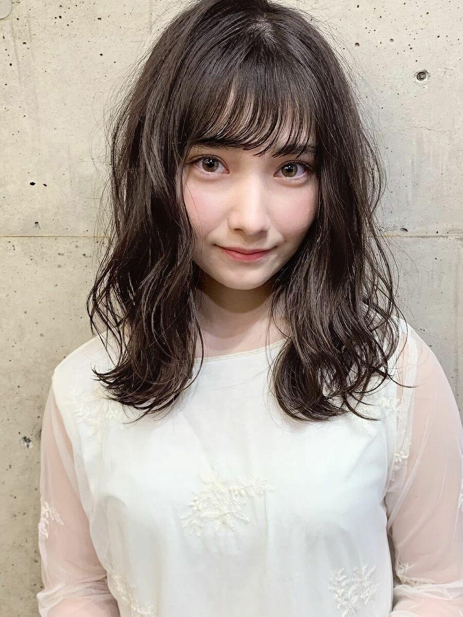 透明感×フェミニン×シースルーバング『ネモトヨシキ』