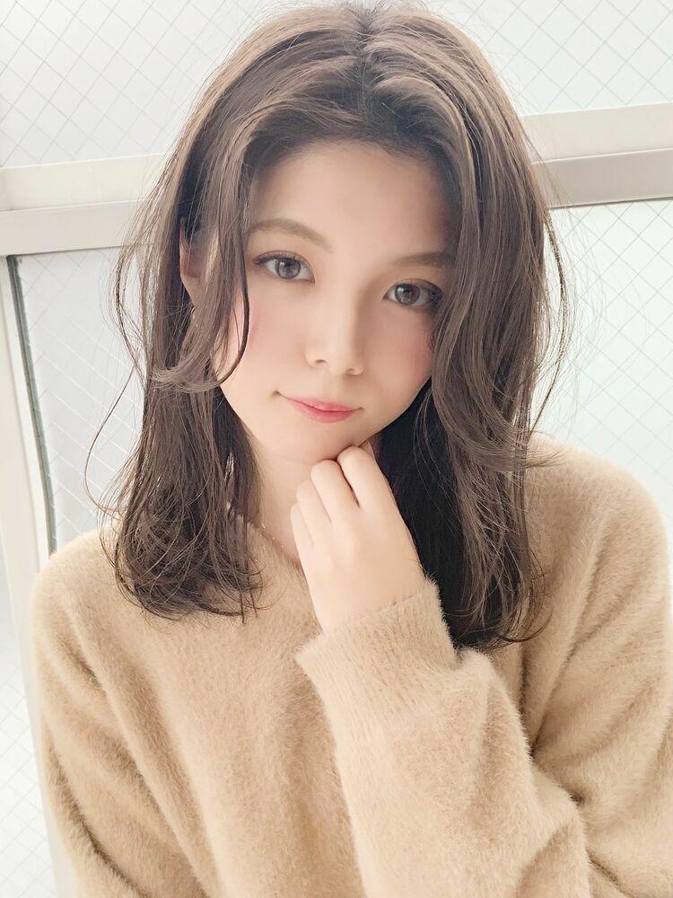 ワンカール×センターパート×セミディ『ネモトヨシキ』