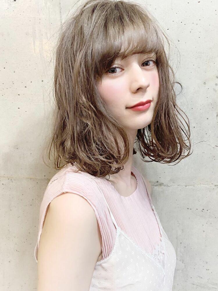シアーベージュ×外ハネロブ×透明感『ネモトヨシキ』表参道stylist