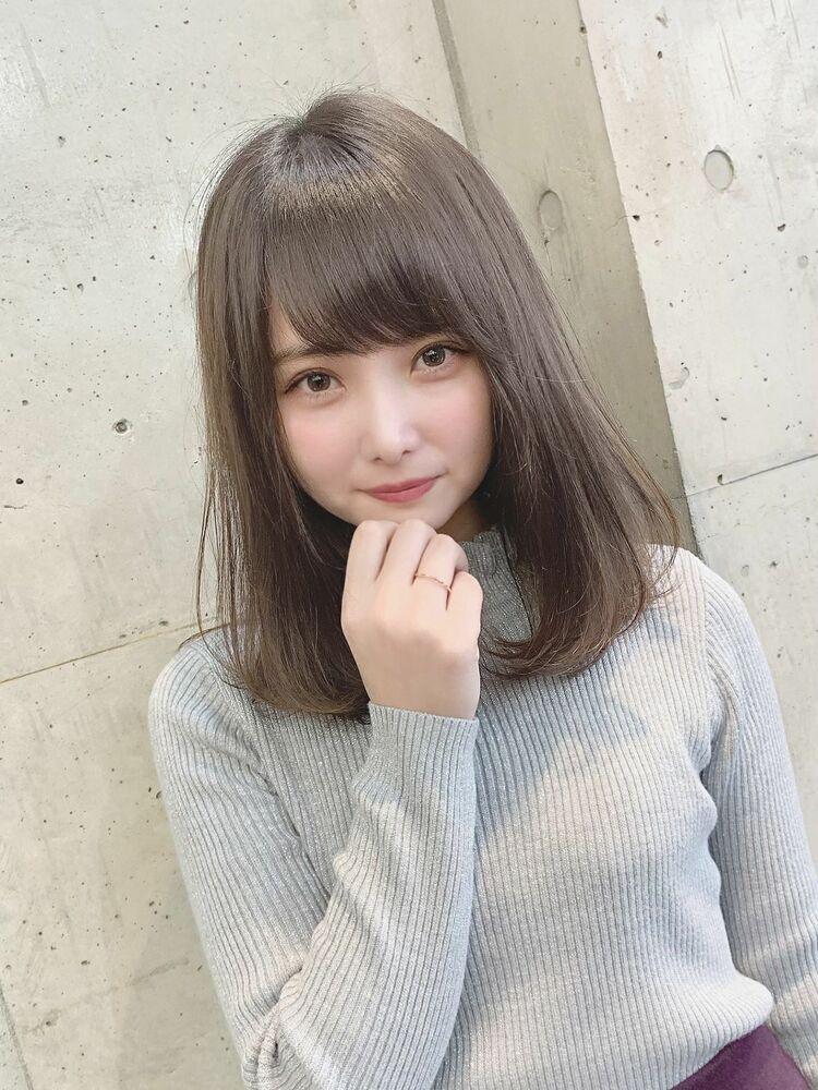 ロブ×ワンカール×セミディ×フェミニン『ネモトヨシキ』表参道stylist