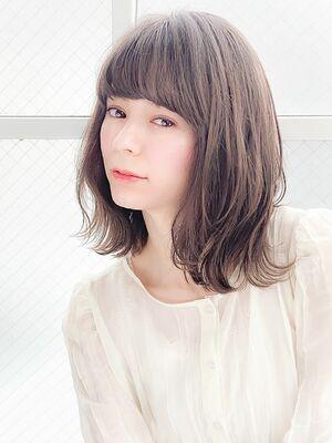 外ハネ×セミディ×透明感『ネモトヨシキ』表参道stylist