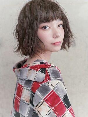 ショート×フェミニン×シアーベージュ『ネモトヨシキ』表参道stylist