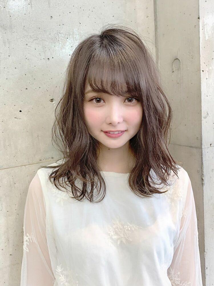 セミディ×透明感×シースルーバング『ネモトヨシキ』