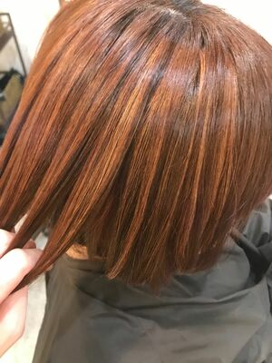 オレンジブラウンカラー☆