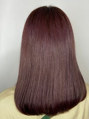 まとまる美髪スタイルx pink violet