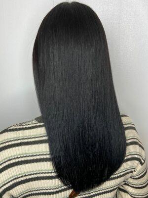 美髪ロングx aqua blue