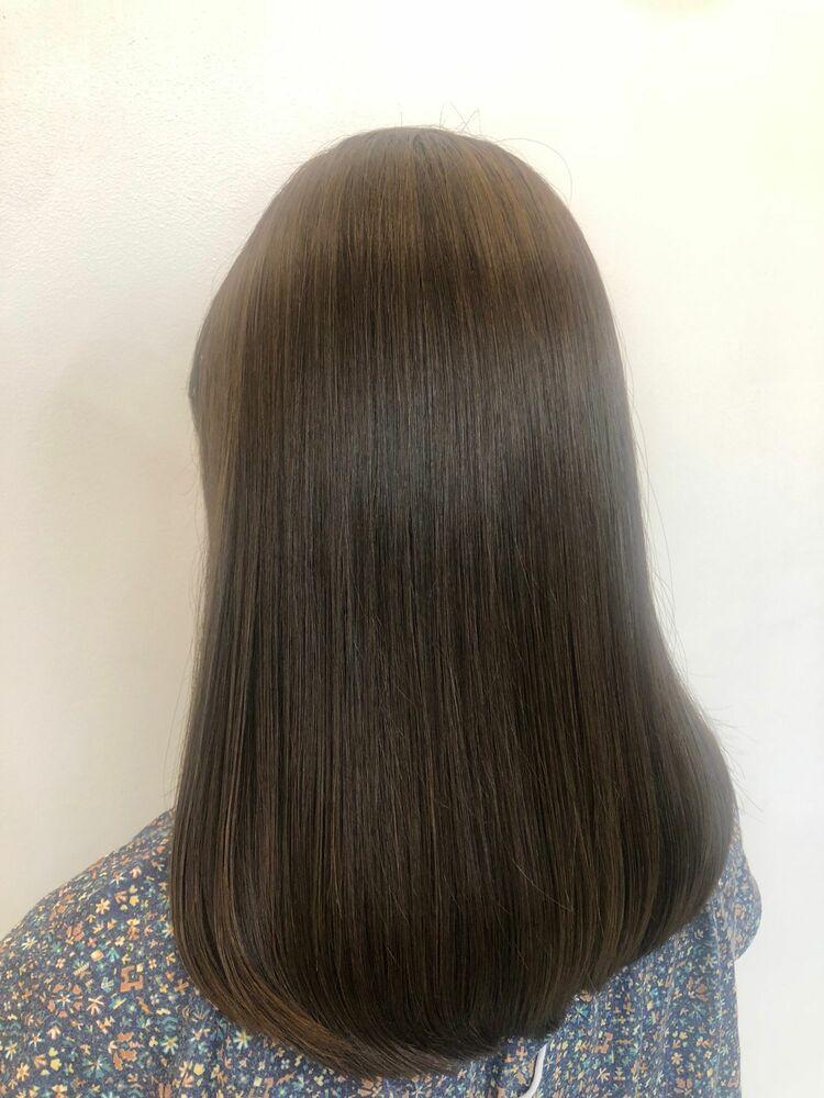ミディアムスタイルx natulal brown