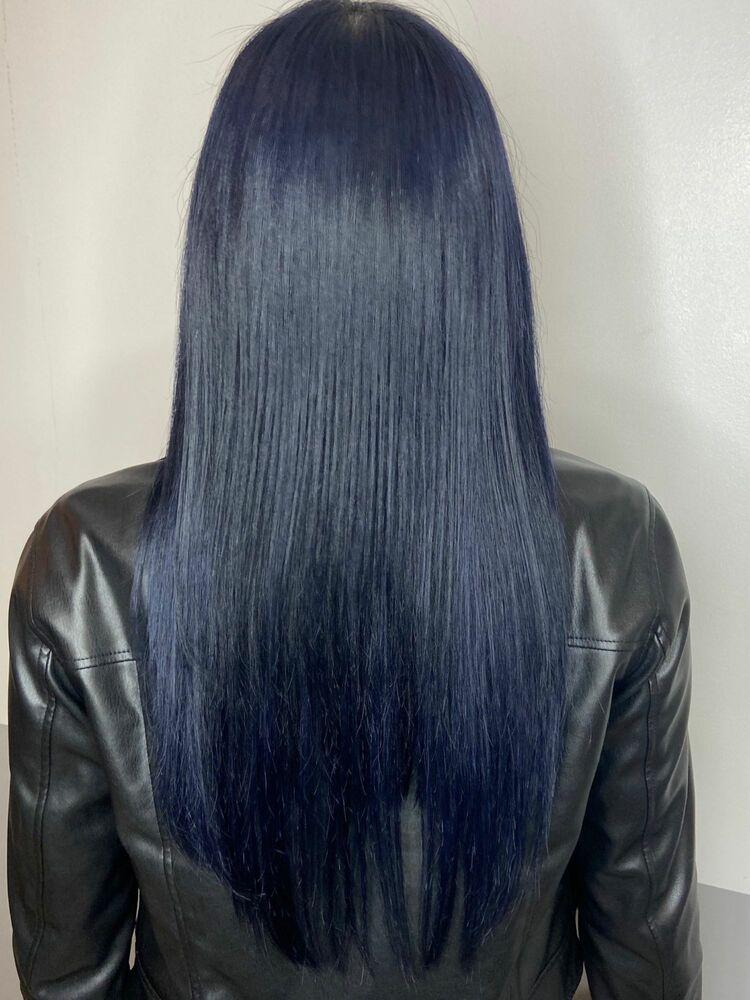 艶髪スーパーロングx aqua blue