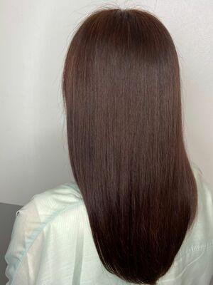 艶髪ロングx chocolate brown