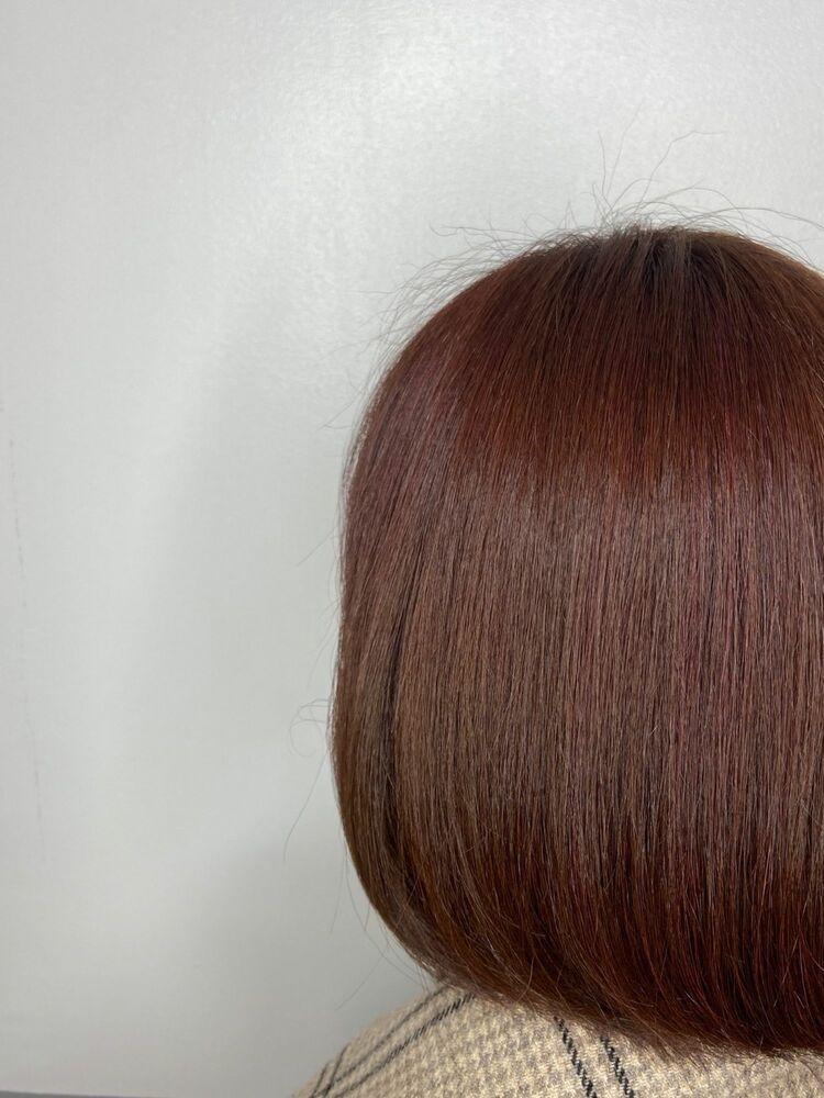 ボブxred brown