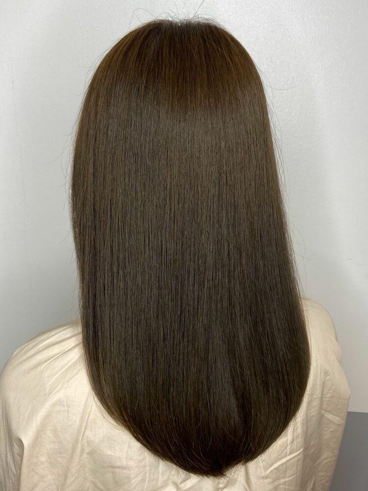 艶髪ロングx beige brown