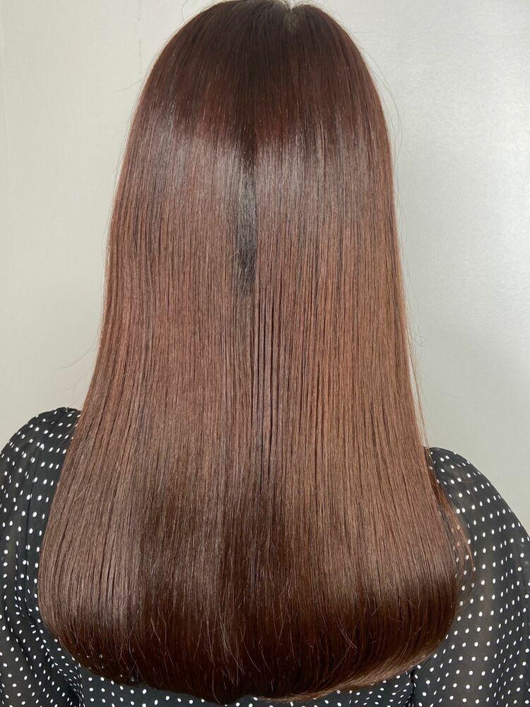 艶髪ロングx chocolate pink