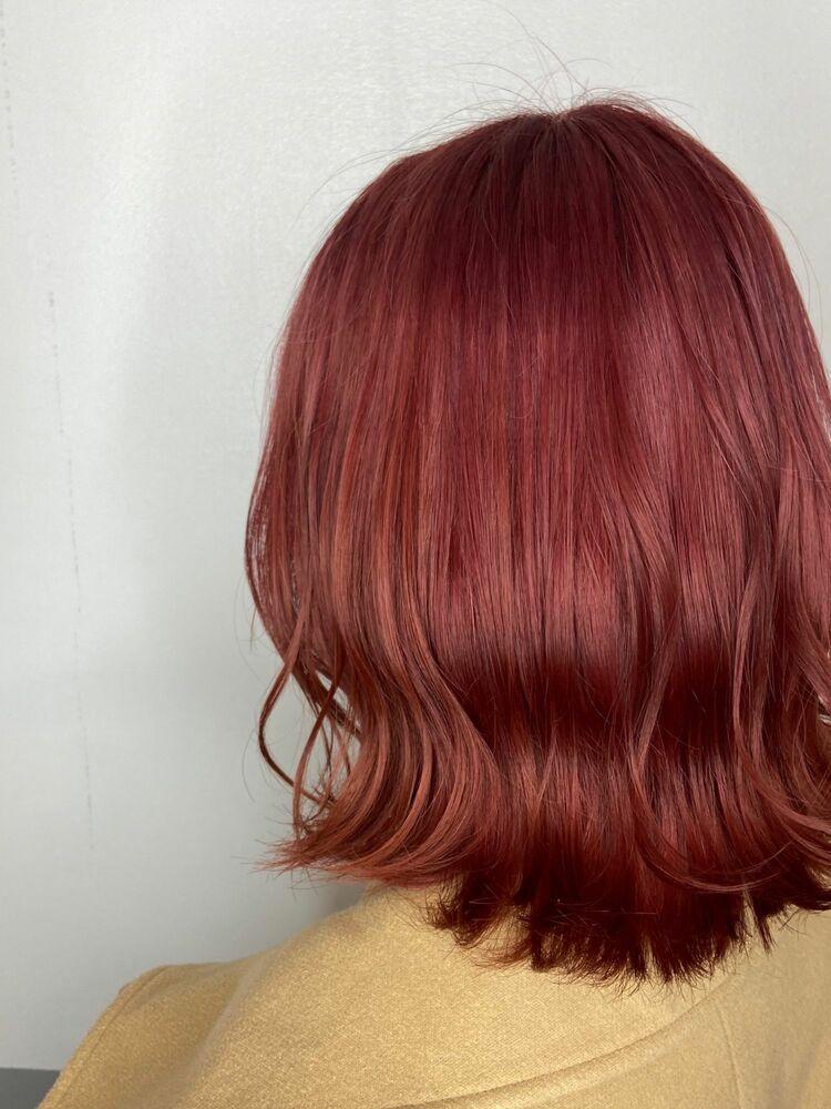 ウェーブミディアムx magenta pink