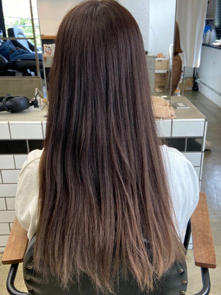 艶髪美髪ロングx pink brown