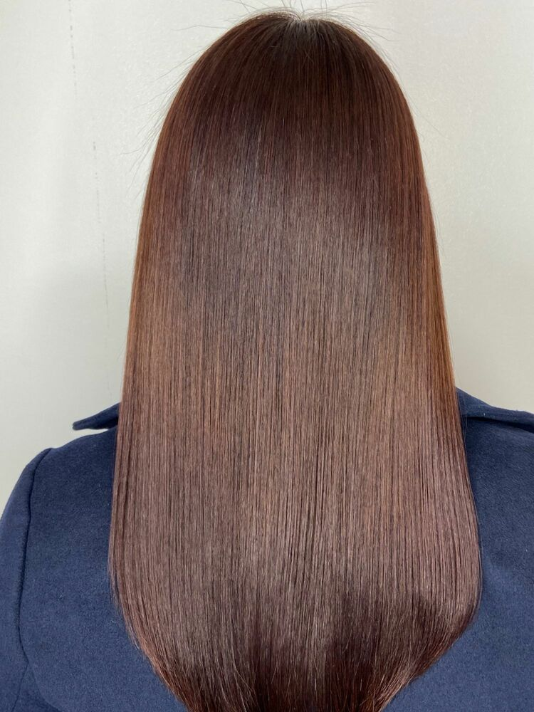 ロングx natural brown