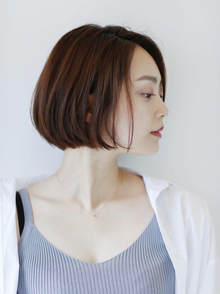 【sheta/ AI】ナチュラル コンパクト ボブ ミニボブ艶髪 オッジィオットトリートメント
