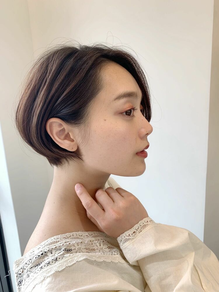 【sheta/ AI】ショートボブ 耳掛けショート ショートヘア 大人ショート