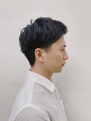 BLESS表参道 ビジネスマンの爽やかツーブロックショート