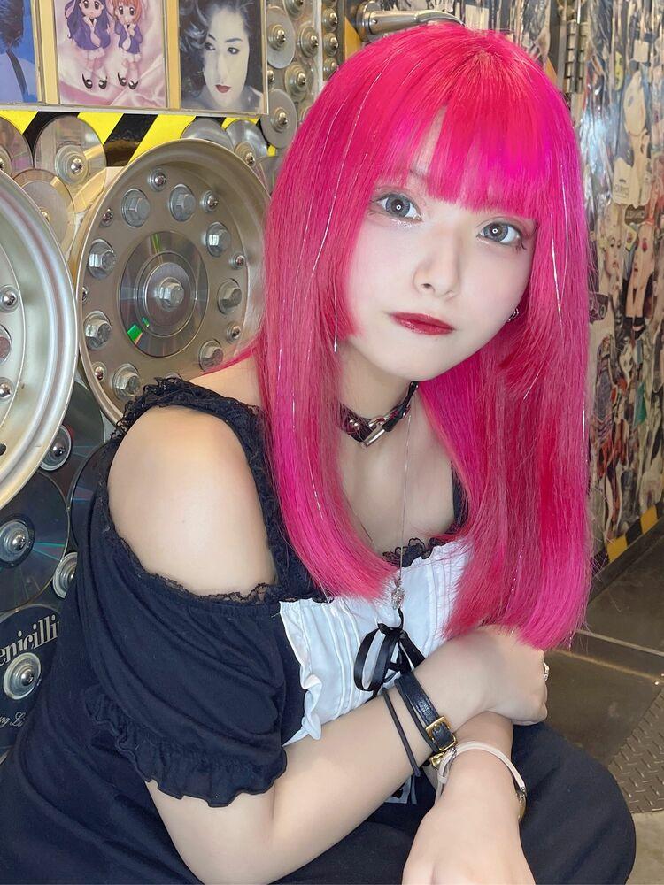 ピンクアイドルカラー