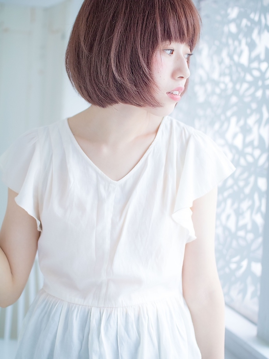 lond avenir 店長川上功介☆キュートでカジュアルなラフボブ☆
