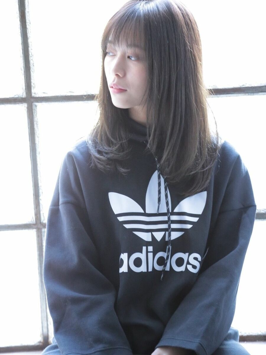 lond avenir 店長川上功介☆柔らかストレートゆるふわミディ☆