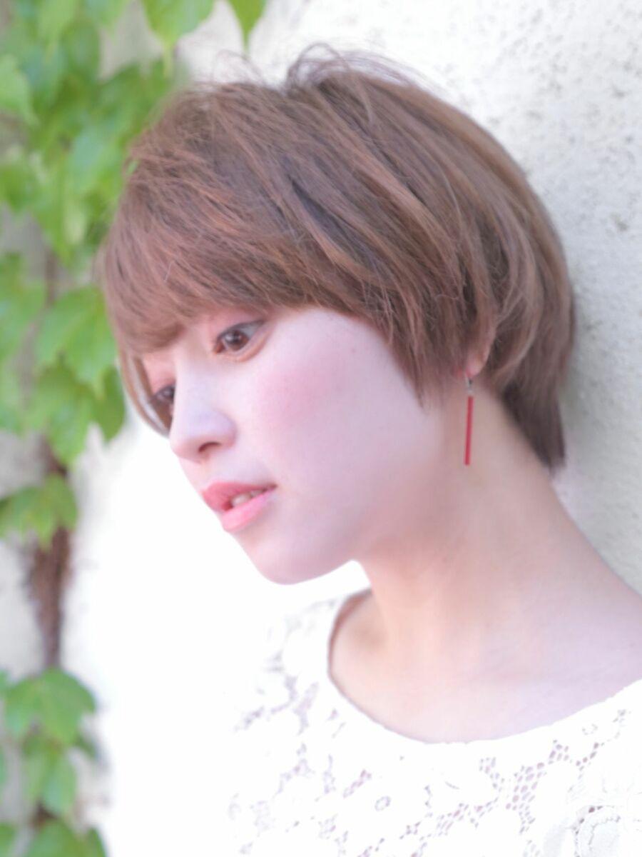 lond avenir 店長川上功介☆大人かわいいエアリーショート☆