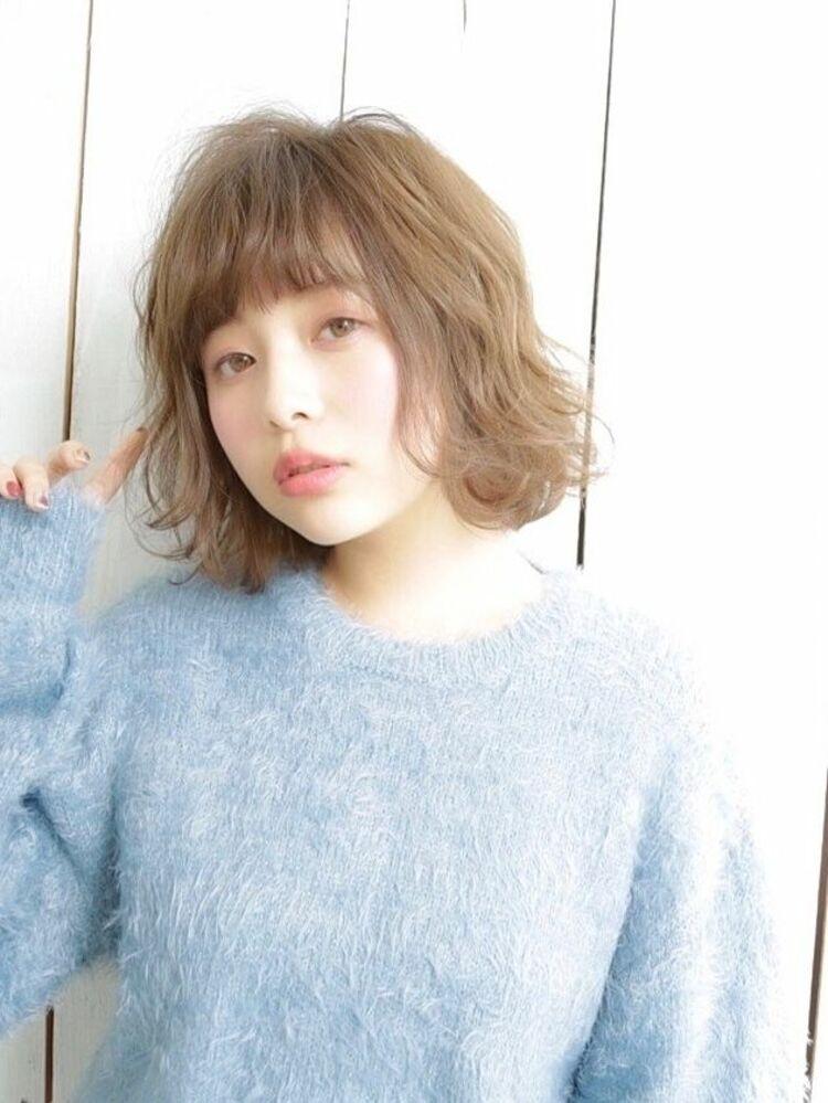 lond avenir 店長川上功介☆大人かわいいバレイヤージュボブ☆
