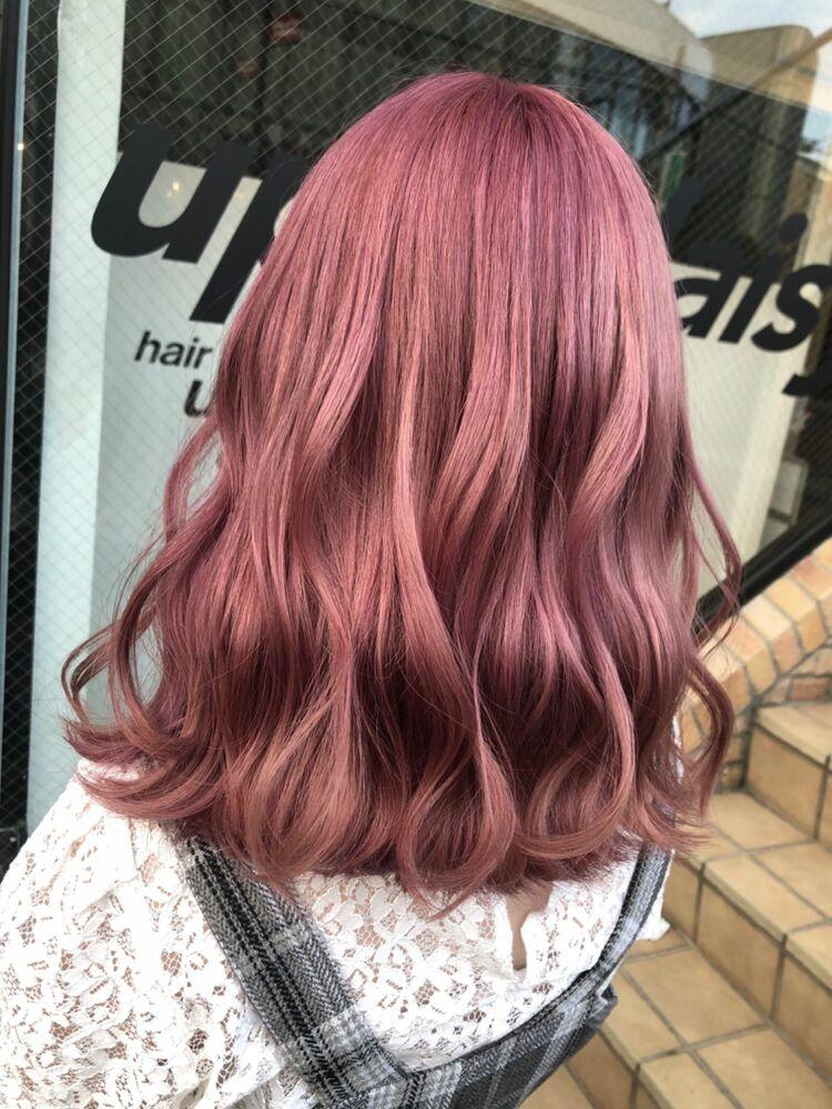 ピンクカラー