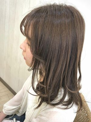 プリスタ☆ヒアルロン酸配合資生堂カラーで艷感コックリカラー😘grandage北千住 川井チヤ