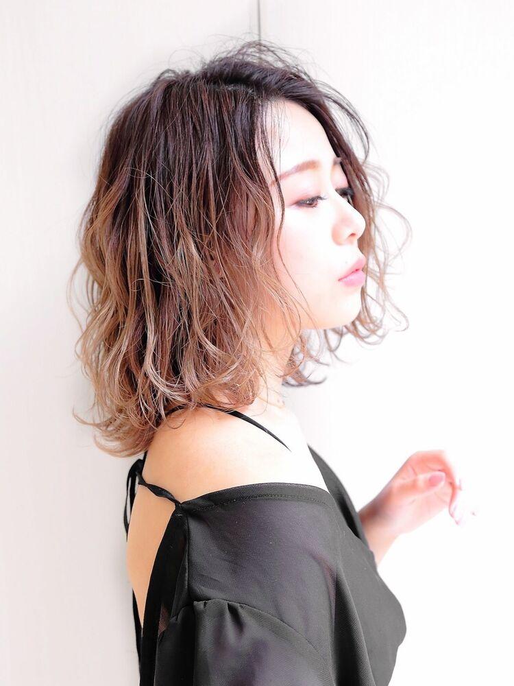錦糸町Lond武井俊樹『透明感バレイヤージュ』