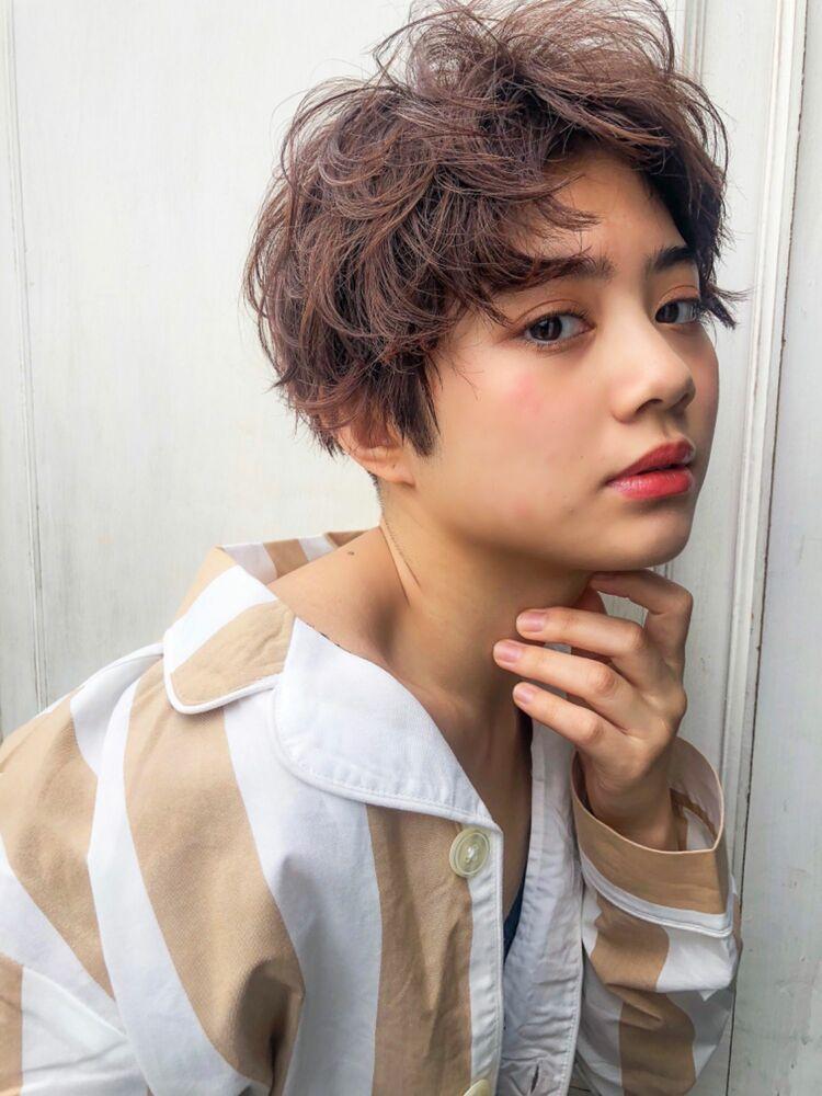 錦糸町Lond武井俊樹くせ毛が可愛い♡『360度可愛い♡くせ毛ショート』