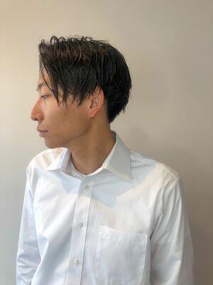 錦糸町Lond武井俊樹『爽やか系ナチュラルマッシュショート』