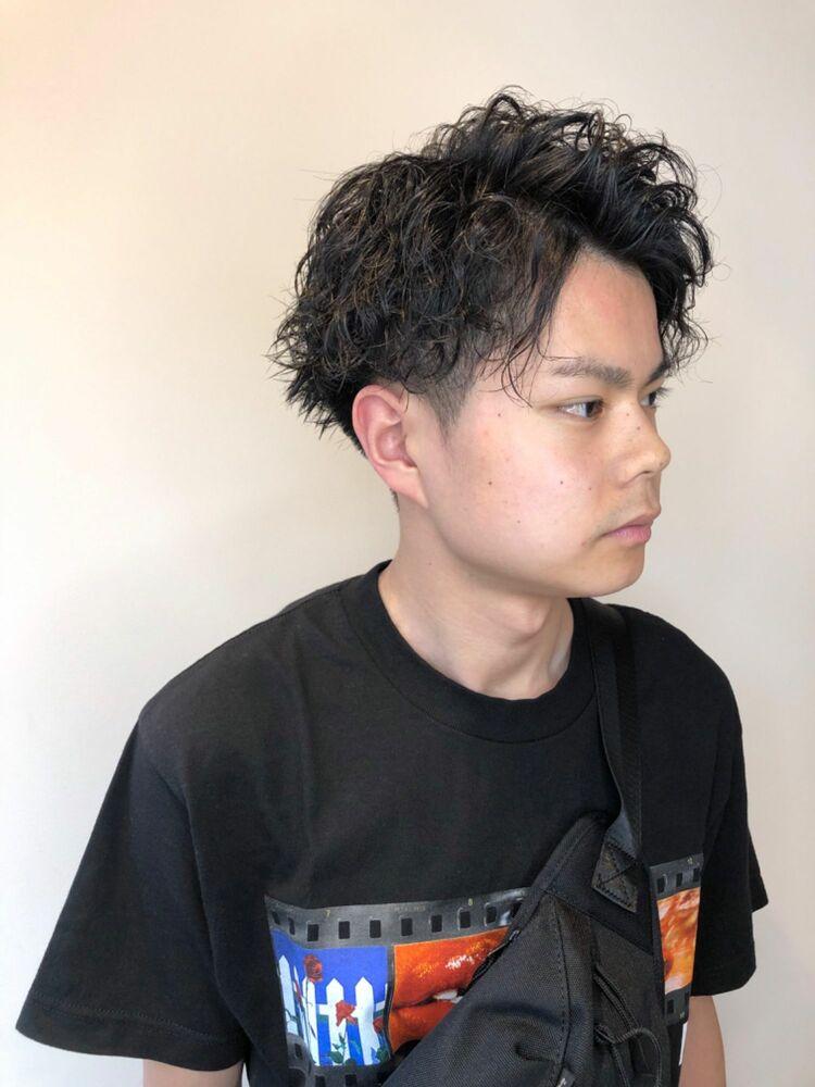 錦糸町Lond武井俊樹『アップバング×スパイラルショート』