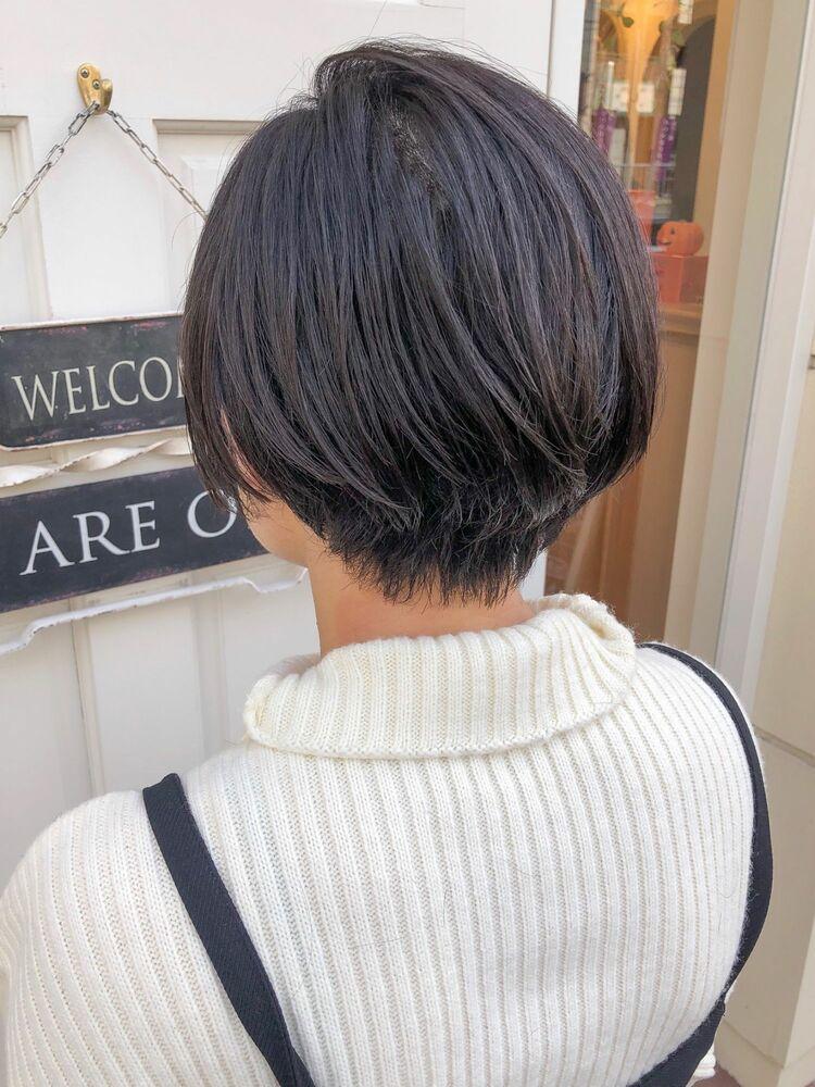錦糸町Lond武井俊樹髪質改善ヘア☆『ストレートまとまりショートボブ』