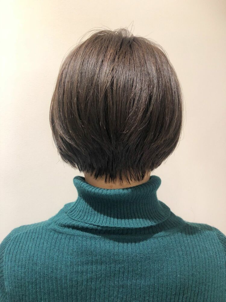 錦糸町Lond武井俊樹バックシルエット☆『大人美人ショートボブ』