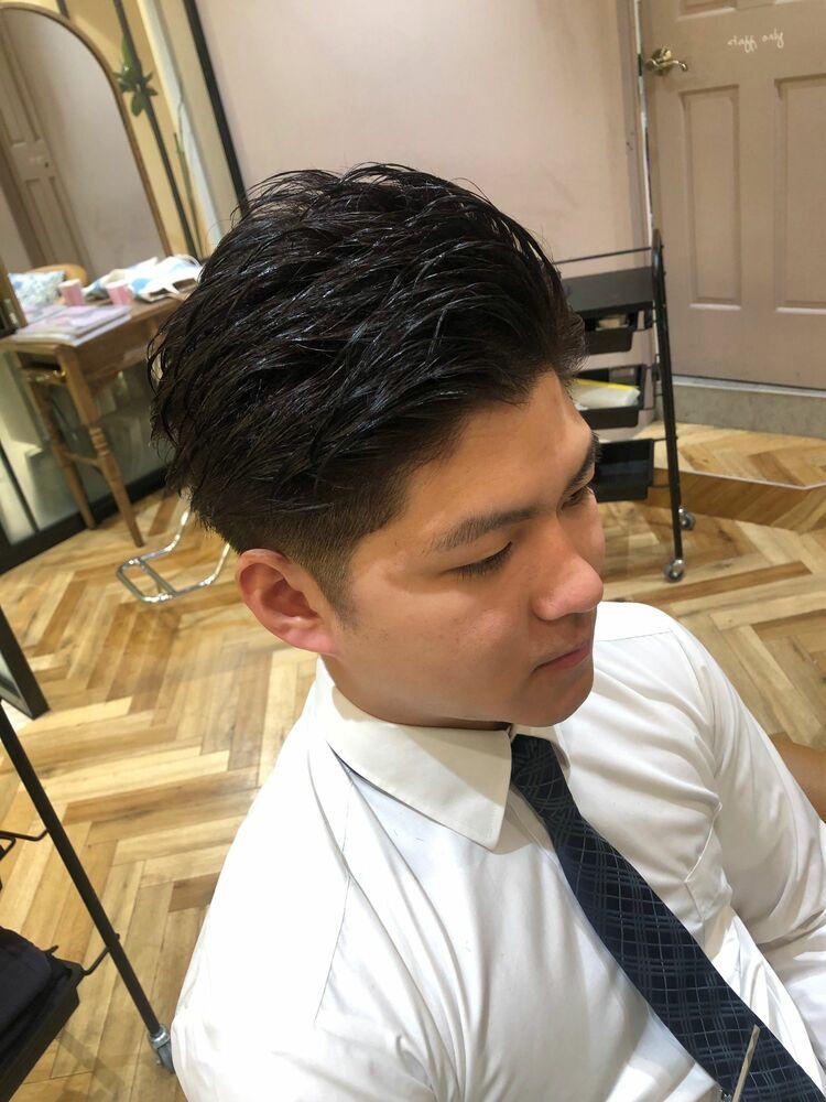 錦糸町Lond武井俊樹『七三オールバックショート』
