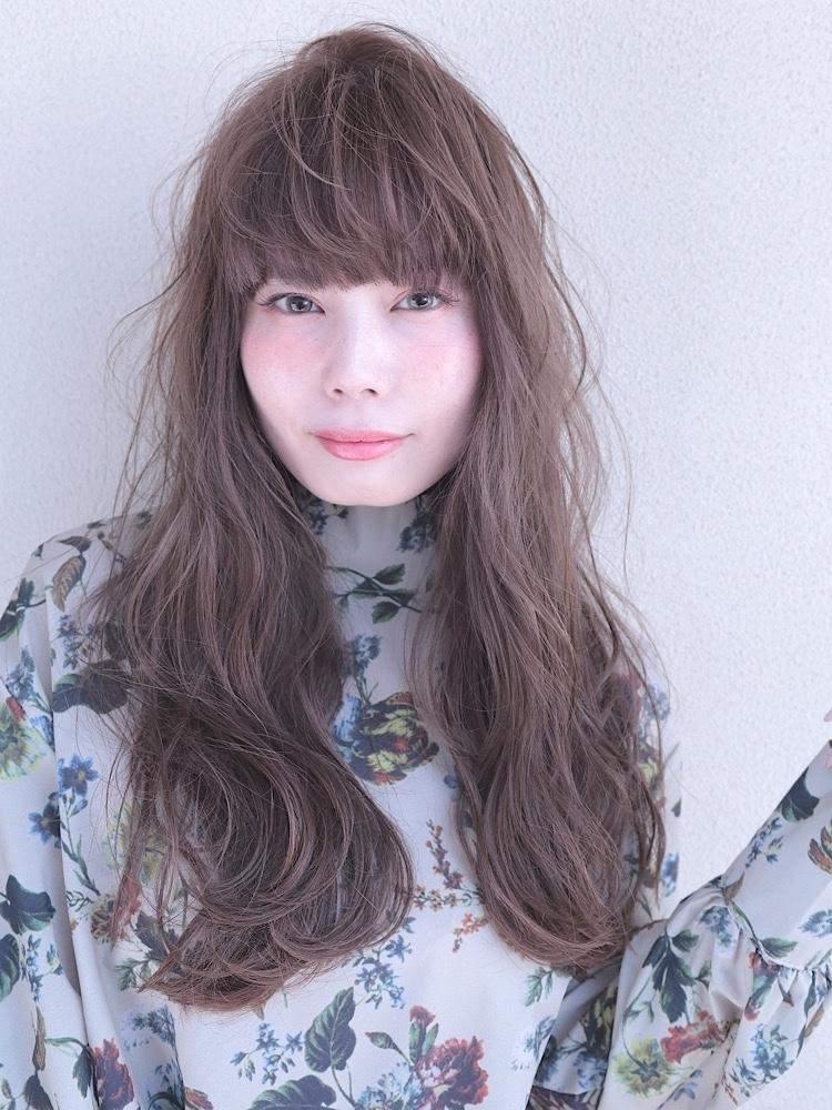 錦糸町Lond 武井俊樹透明感抜群の外国人風カラー☆『スモーキーベージュ』