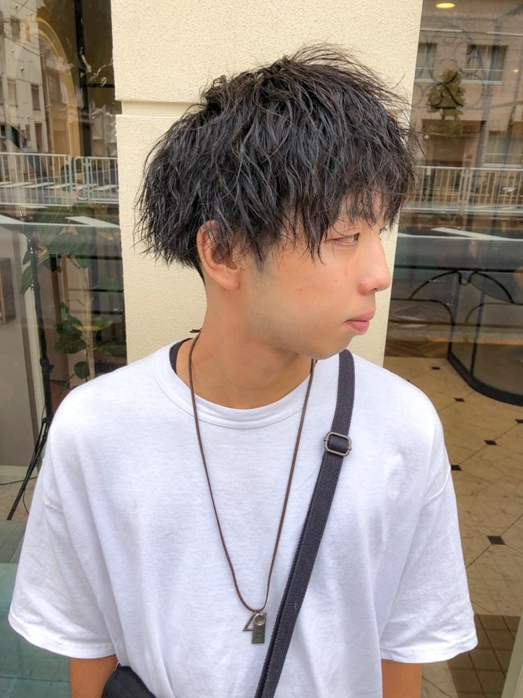 錦糸町Lond武井俊樹ストリート系特殊パーマ☆『フェード×ツイストスパイラル』