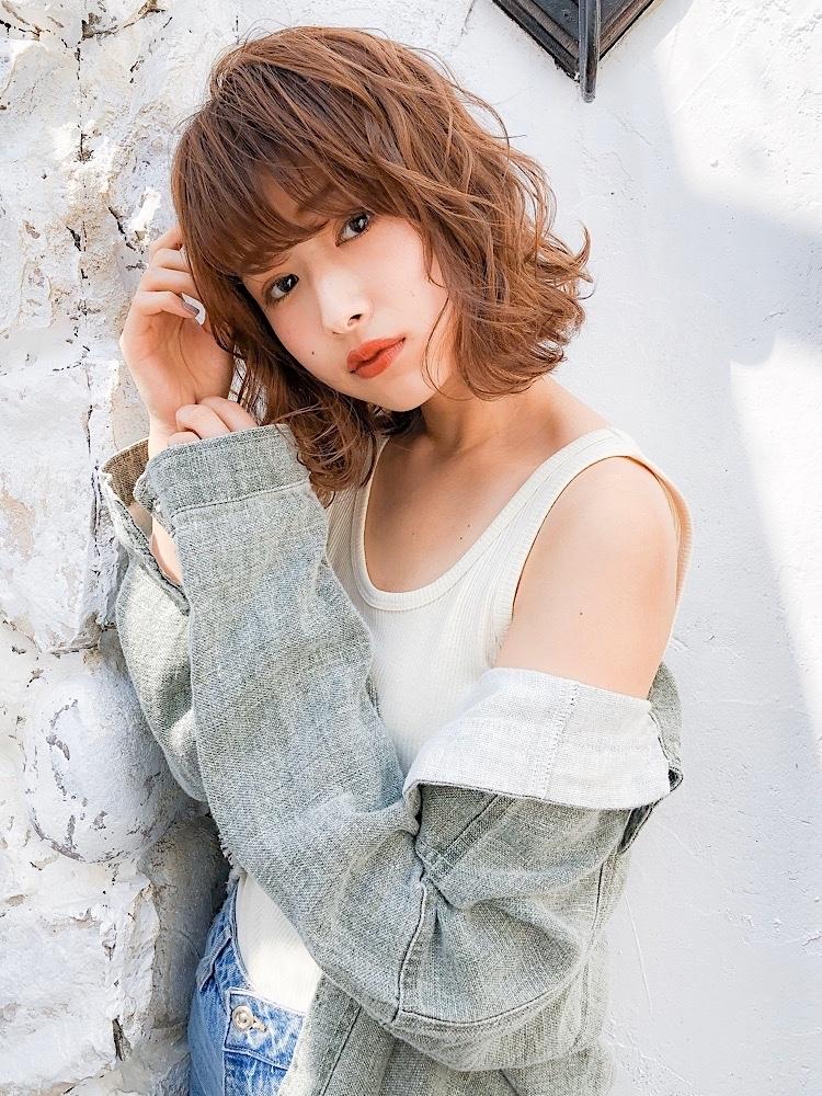 錦糸町Lond武井俊樹美人系ミディが可愛い♡『ゆるふわウェーブミディ』