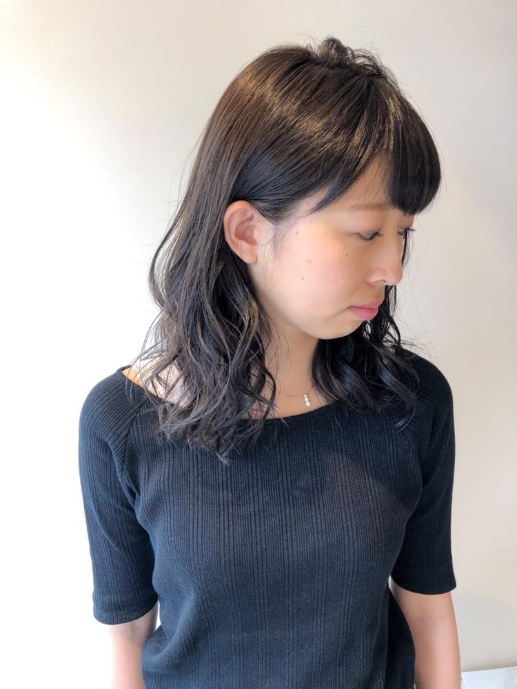 錦糸町Lond武井俊樹ロングの巻き髪はモテる♡『クールアッシュ系波巻きウェーブ』