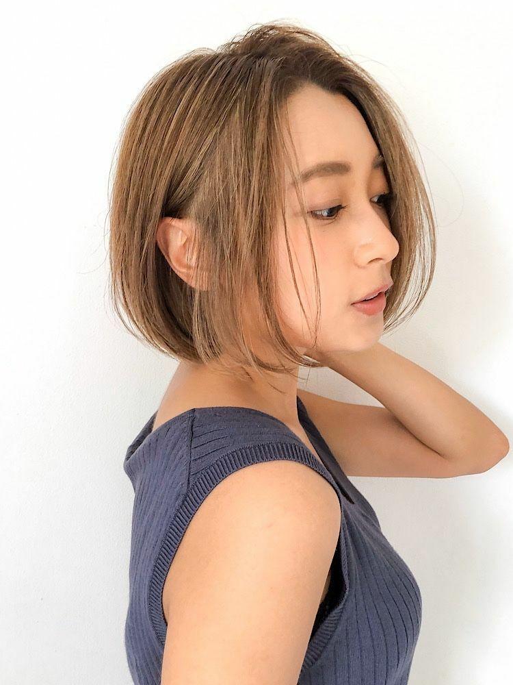 錦糸町Lond武井俊樹サイドシルエット☆『大人美人ショートボブ』