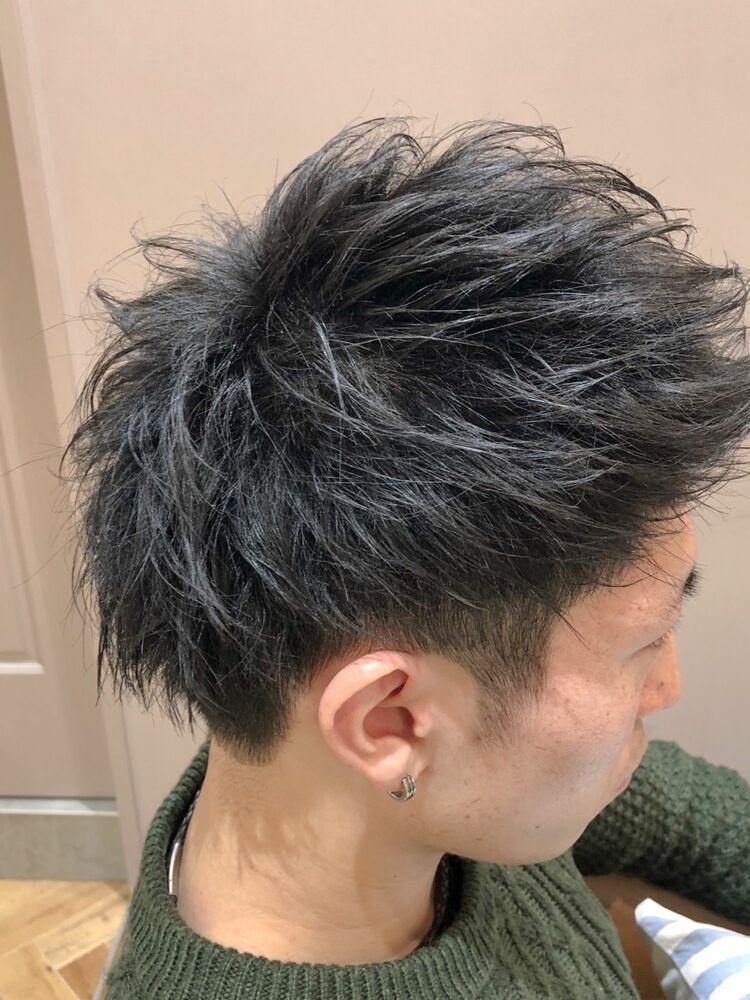 錦糸町Lond武井俊樹『アッパーシャギーショート』