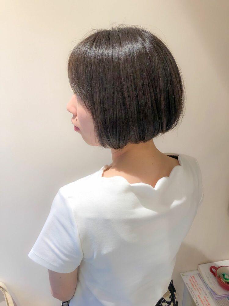錦糸町Lond武井俊樹バックスタイル☆『大人まとまりショートボブ』