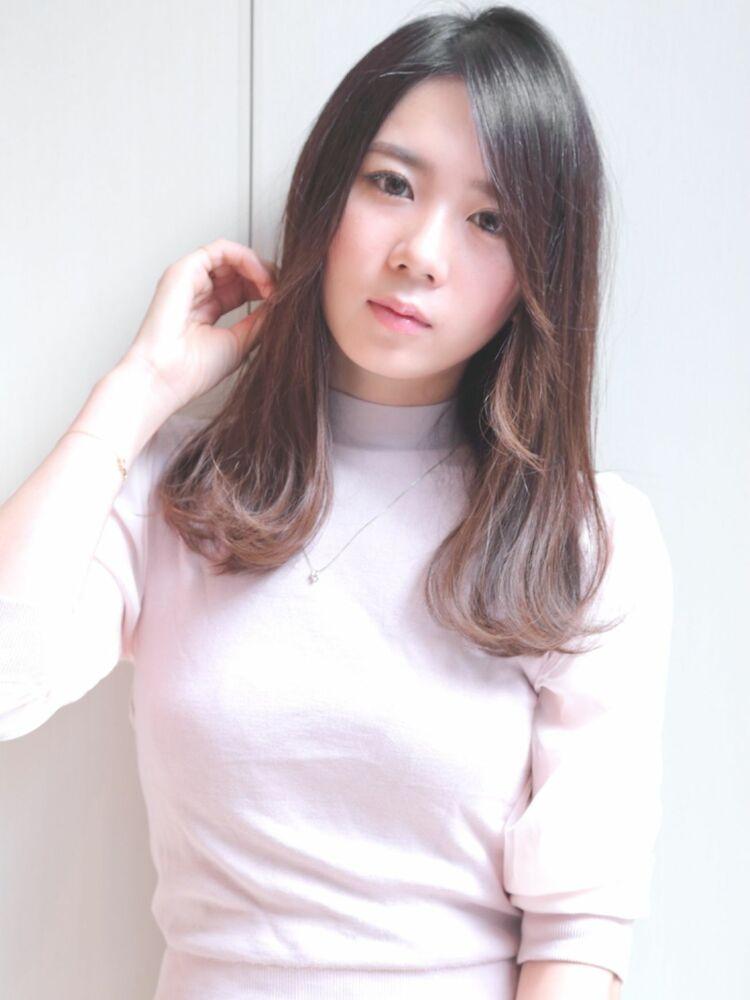錦糸町Lond武井俊樹サラサラヘアが可愛い♡『ナチュラルワンカールストレート』