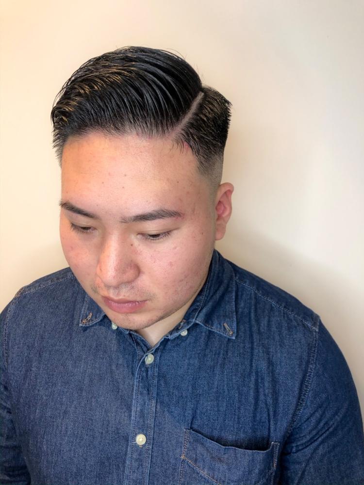 錦糸町Lond武井俊樹the barber style☆『七三フェードスタイル』